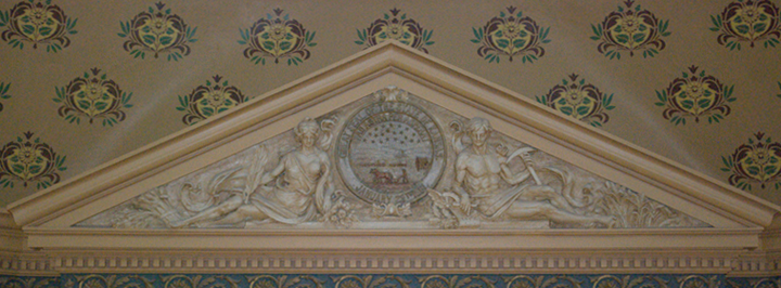 Relief, Capitol fifth floor