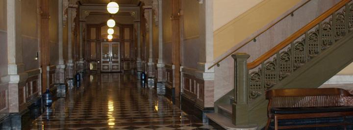 Hallway, Capitol first floor