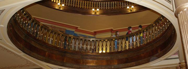 Rotunda, Capitol first floor