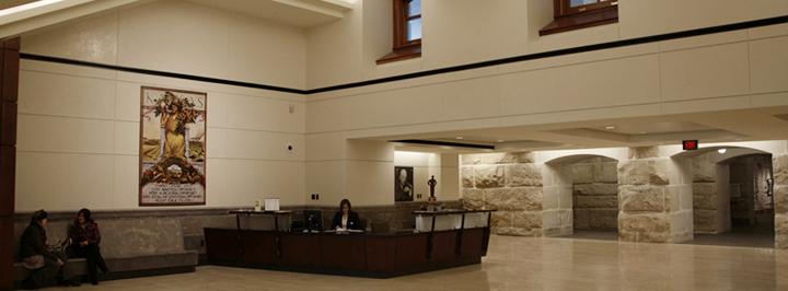 Capitol Visitor Center, ground level