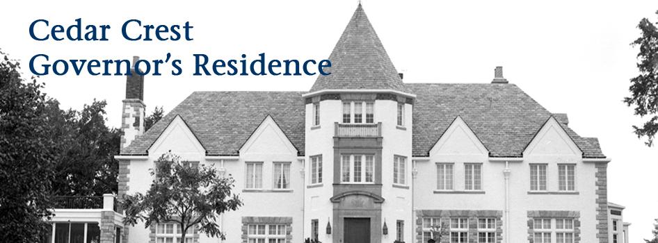 Cedar Crest, Governor's Residence