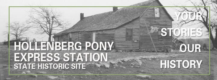 Hollenberg Pony Express Station State Historic Site, Hanover
