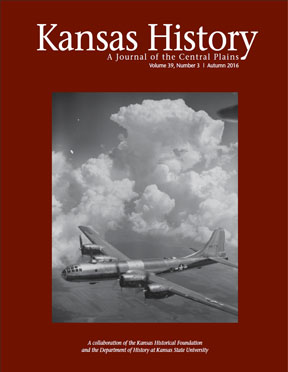 Kansas History, Autumn 2016