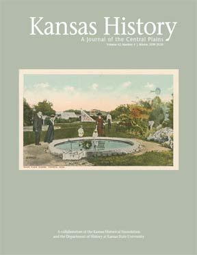 Kansas History, Winter 2019-2020