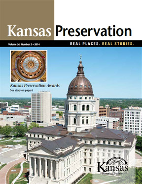 Kansas Preservation, volume 36, number 2