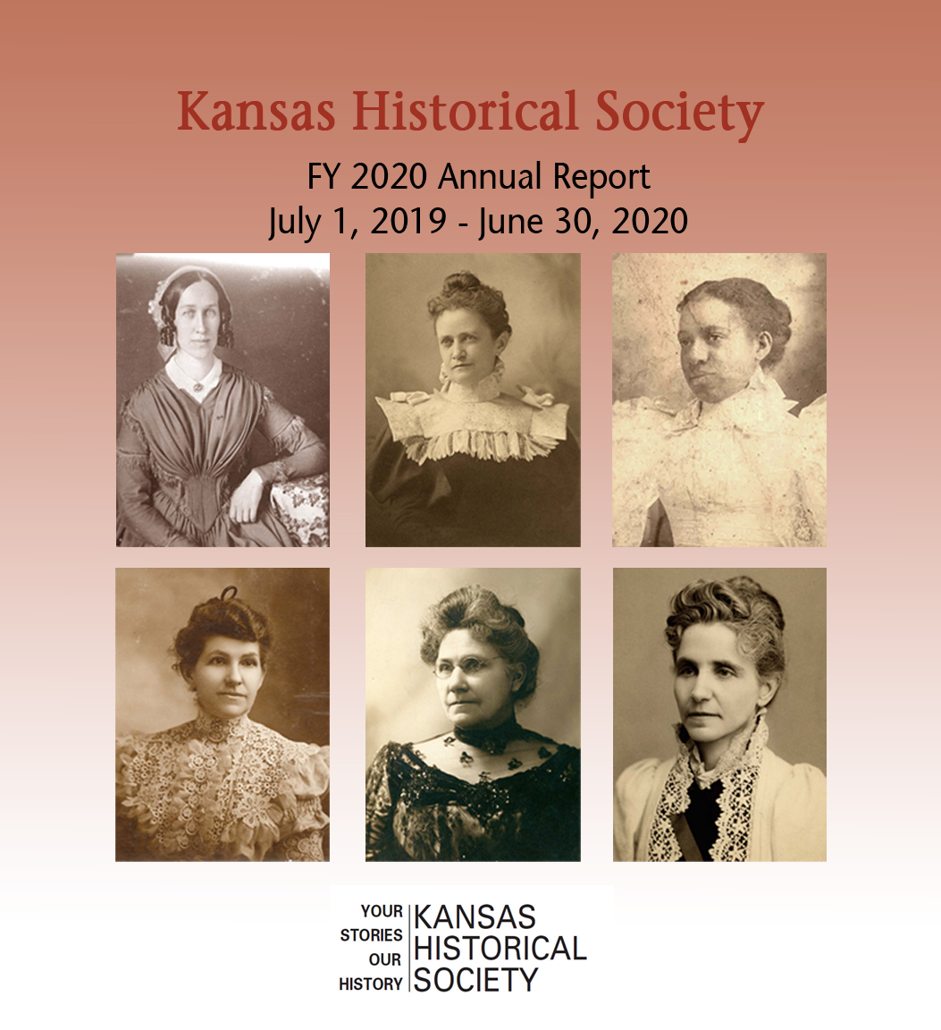 Kansas Historical Society  Fiscal Year 2019 Annual Report