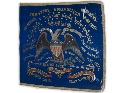 Regimental flag from 2nd Kansas, Civil War