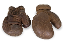 Jess Willard's boxing gloves