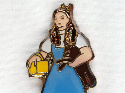 Dorothy from Wizard of Oz pin set