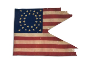 Eleventh Kansas Cavalry guidon