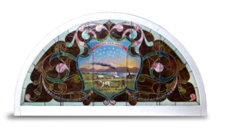 Window from Kansas building, 1904 world's fair.