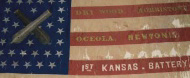 First Kansas Battery flag