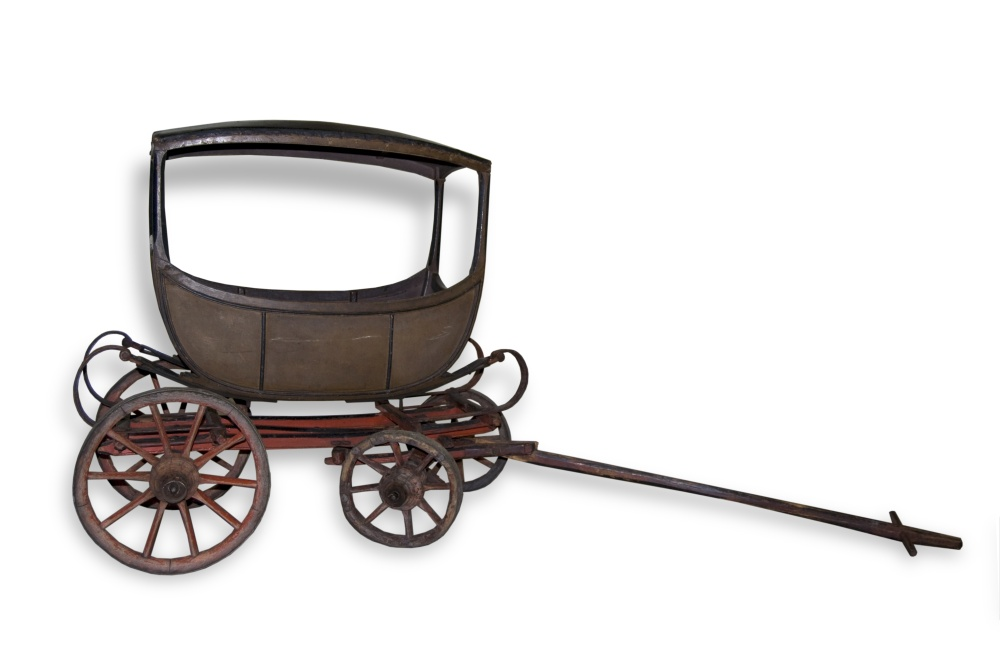 Early 1800s  baby carriage