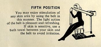 Walton belt vibrator invention