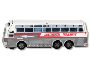 Miniature Continential Trailways bus awarded to Widsteen
