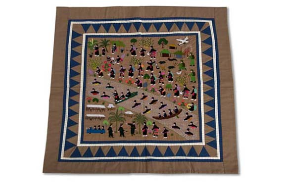 Photo of Hmong Story Cloth