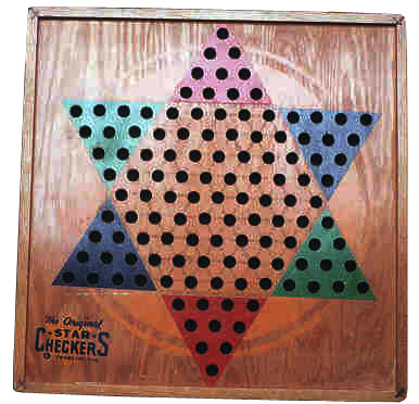Star Checkers game