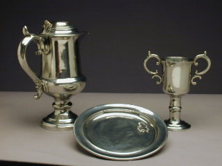 Delaware Indian Mission communion set