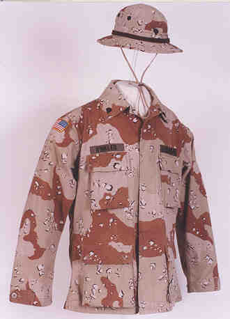 Desert Storm uniform