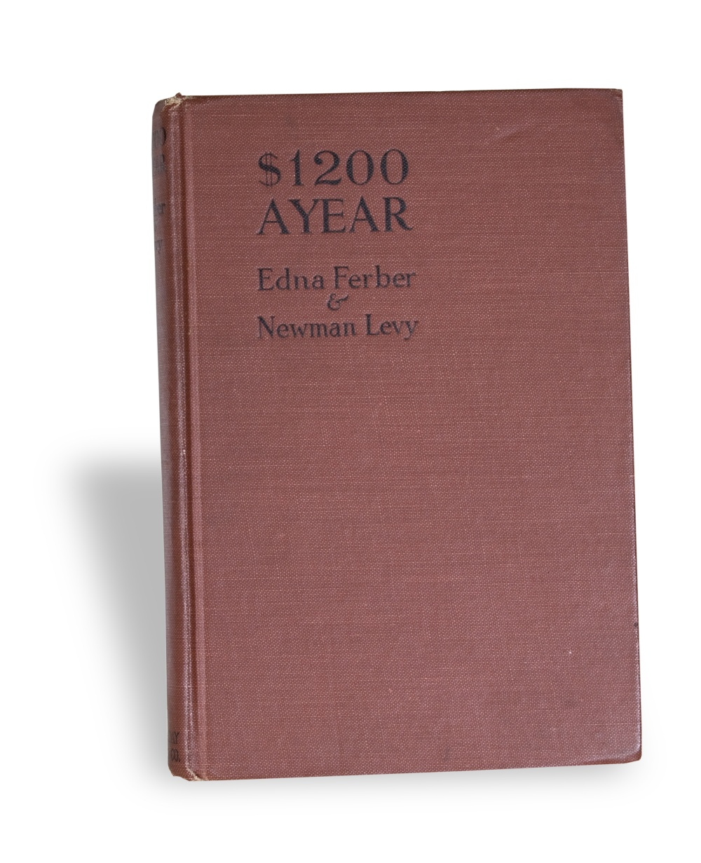 Book, $1200 a Year, by Edna Ferber