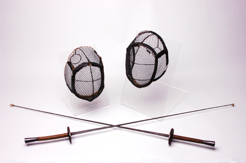 Turner fencing foils and masks