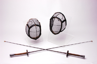 Fencing foils and masks