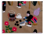 Hmong  village life on story 