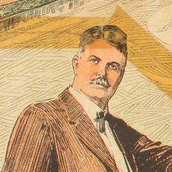 Image of J. C. Hopper taken from poster