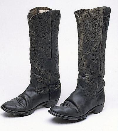 Hyer Cowboy Boots - Kansapedia - Kansas Historical Society