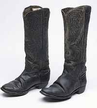 19th century Hyer cowboy boots