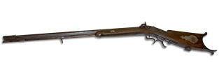 rifle from Jesse James gang shoot-out
