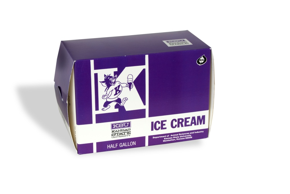 K-State ice cream box