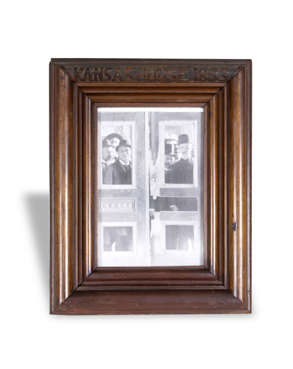 Picture frame  made from fragments of House doors