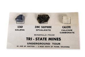 Tri-State Mines mineral samples