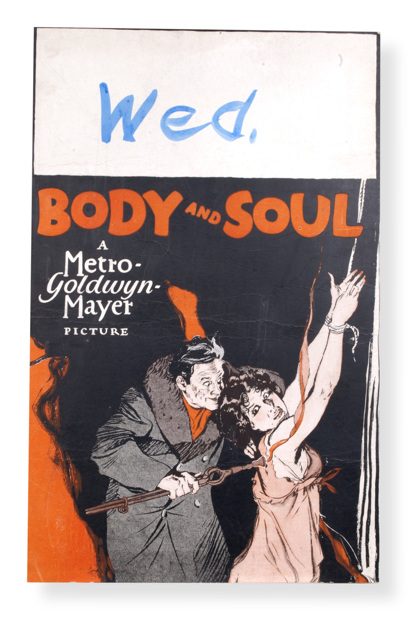 Movie poster for Body and Soul (1927)