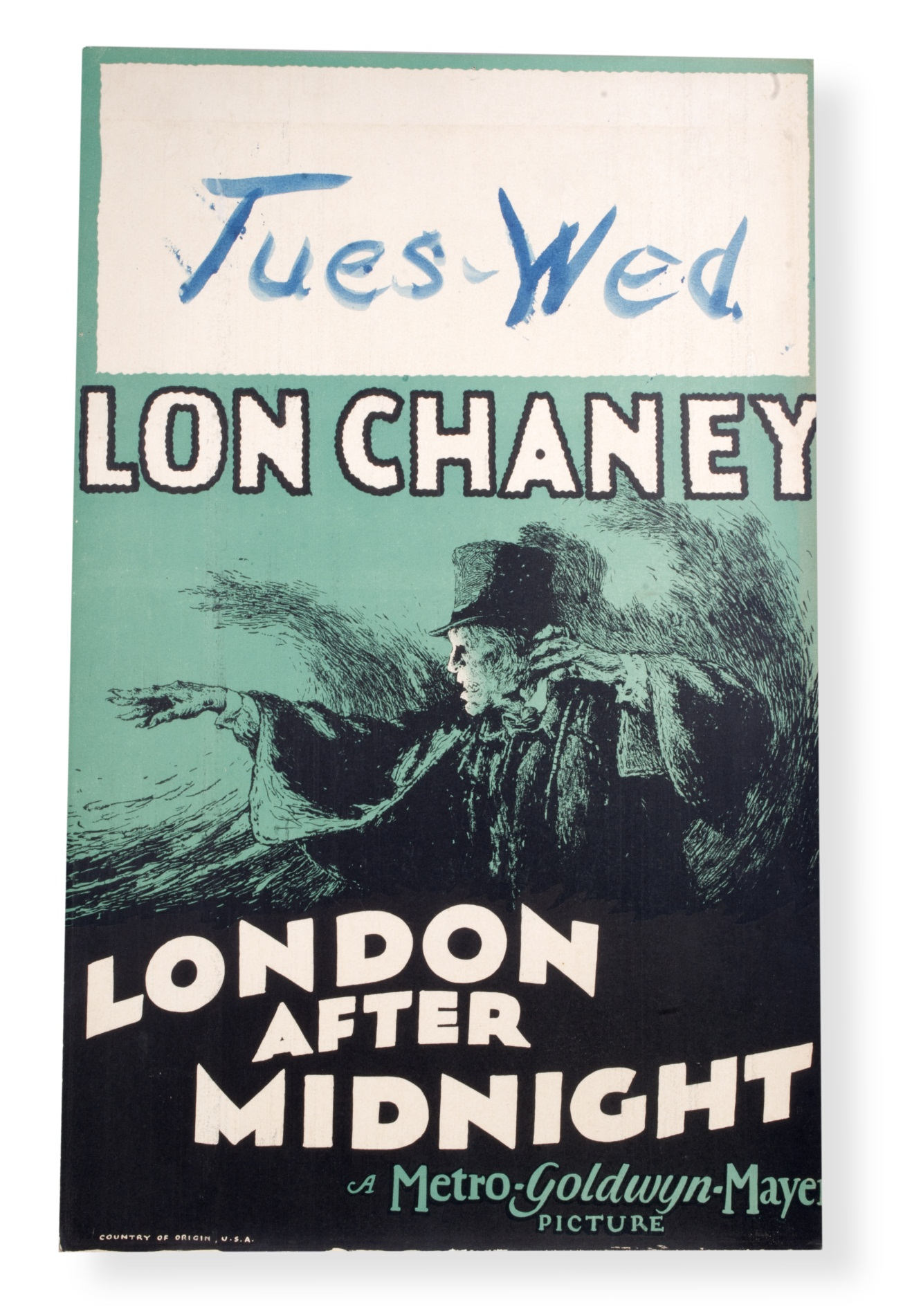 Movie poster for London After Midnight (1927)