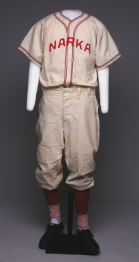 Narka town baseball uniform