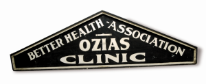 Ozias Clinic sign