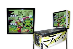 Bootles pinball machine