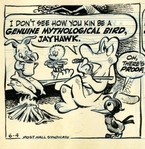 Panel from Pogo comic strip