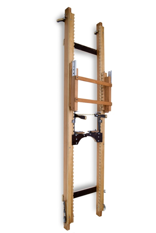 Rungless ladder invented by Sylvester Baringer