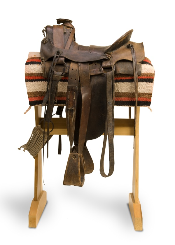 Gus Bellport's saddle