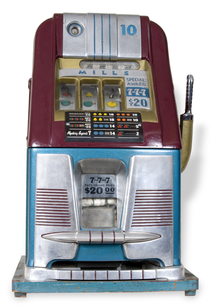 Ten cent slot machine