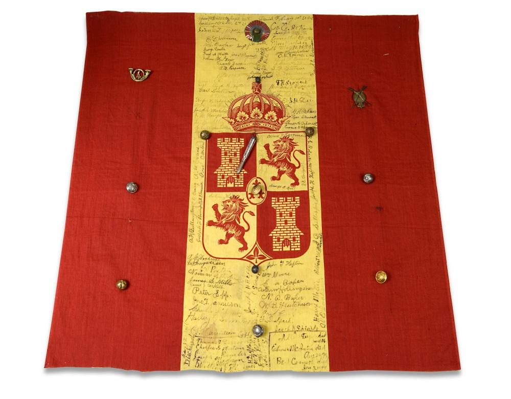 spanish american war flag kansapedia kansas historical society