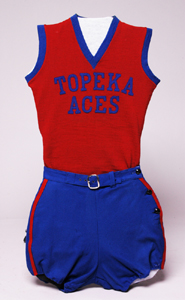 Topeka Aces uniform