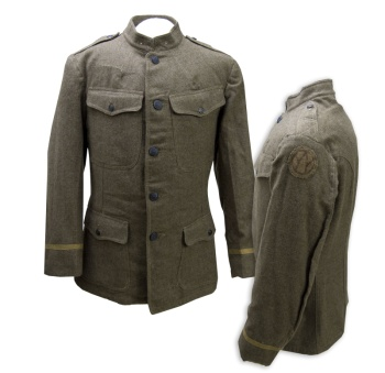 Veterinary Reserve Corps jacket from World War I