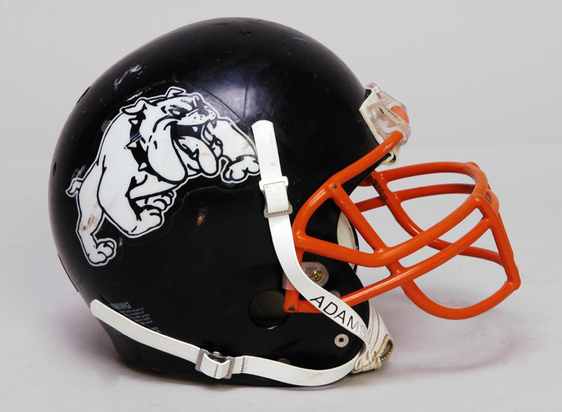 Waverly Bulldogs football helmet