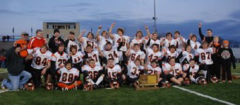 Waverly Bulldogs after winning 2006 8-Man State Championship