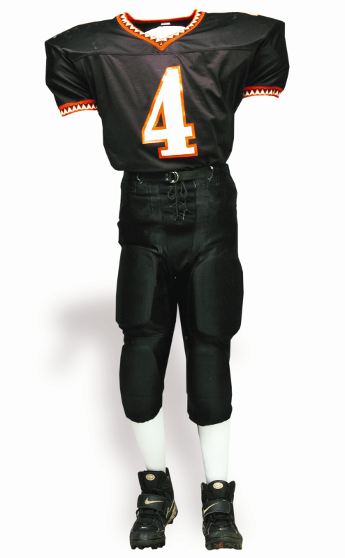 Waverly Bulldogs football uniform