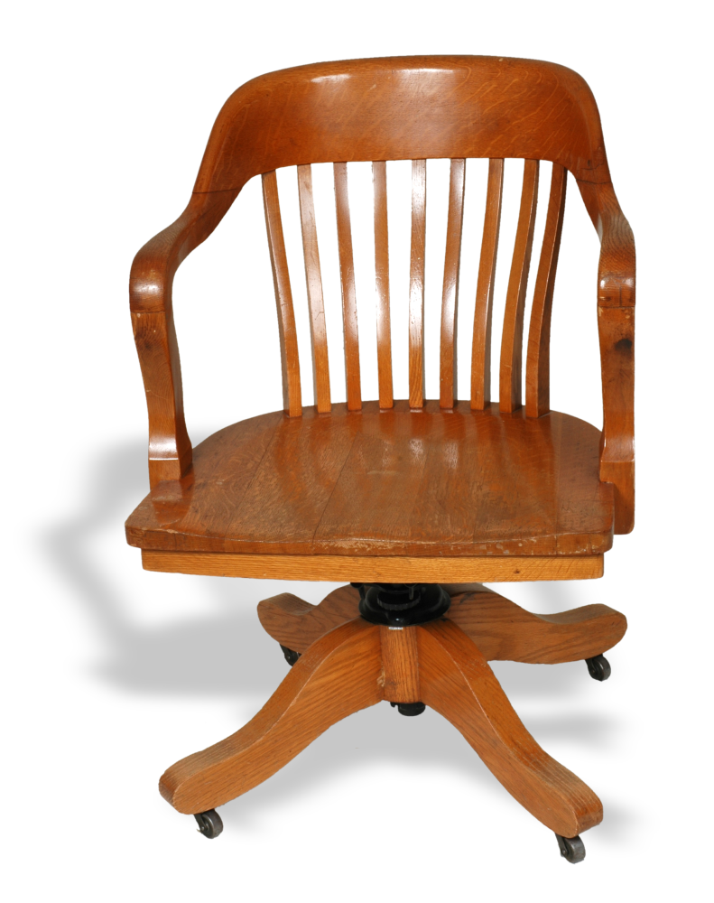 20th century office chair made by Abernathy